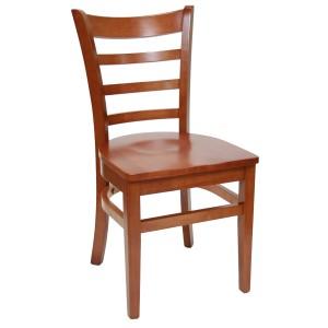 walnut-wood-Ladder-back-Chairs